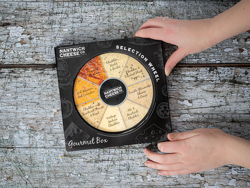 Cheese Selection Wheels