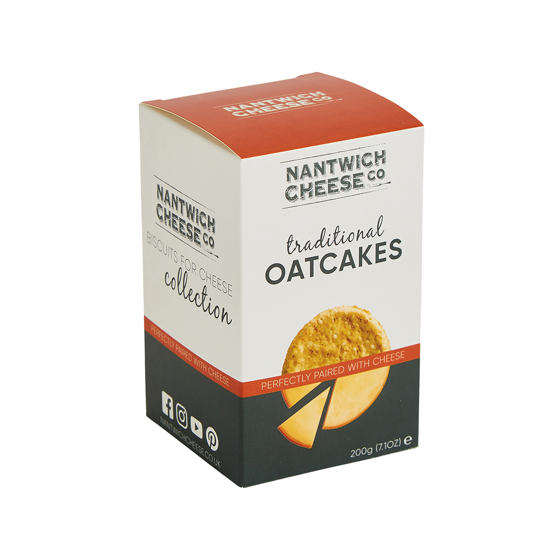 traditional oatcakes front facing