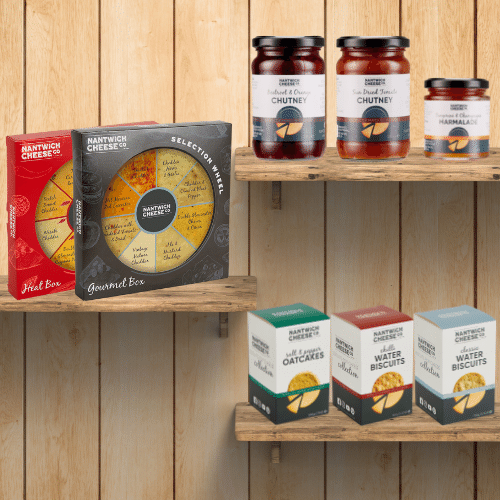 retail products cheese biscuits jams jellies preserves chutneys accompaniments