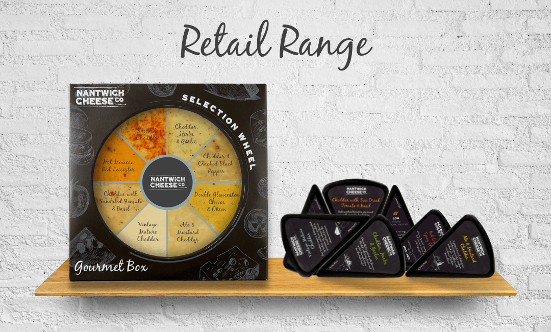 retail cheese products cheddar selection cafe farm shop deli